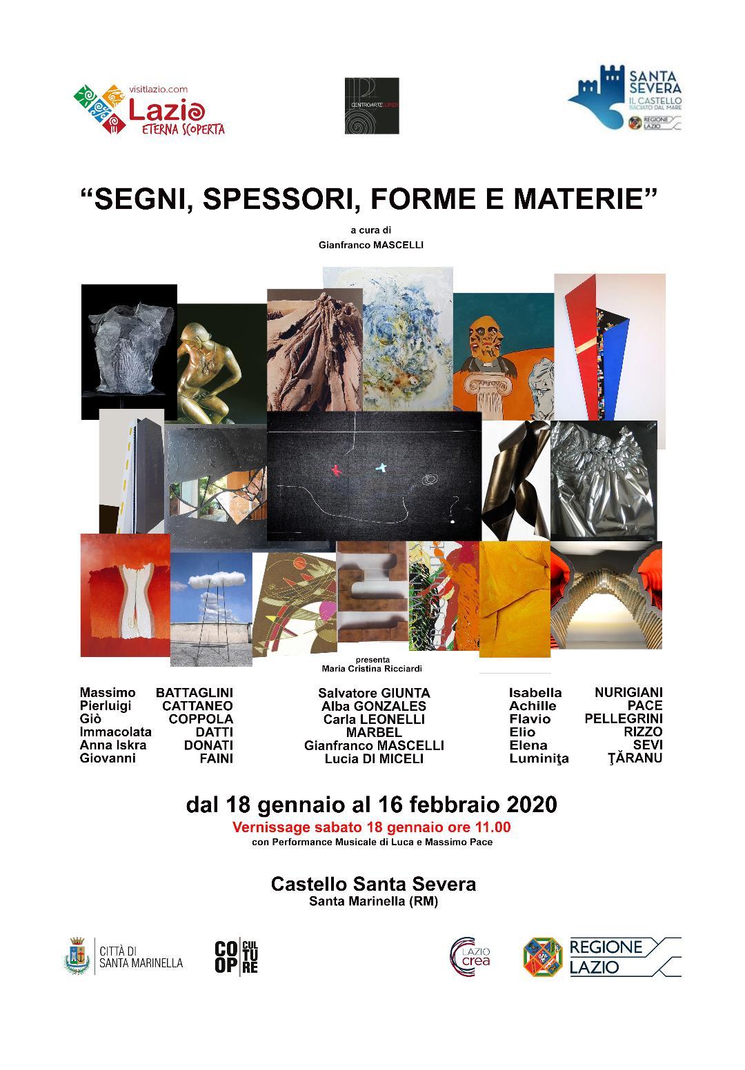 """""""Segni, Spessori, Forme E Materie"""""""